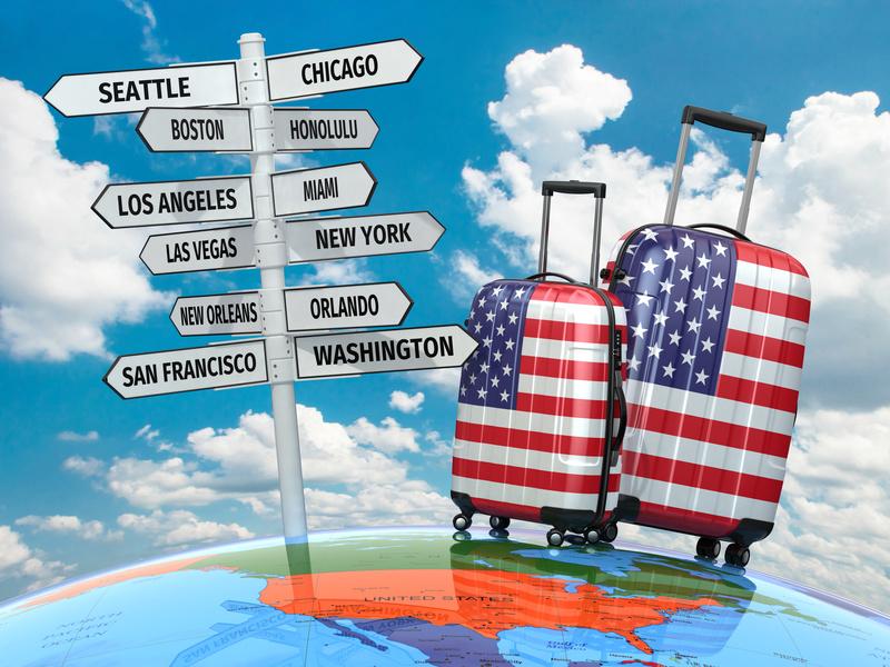 Travel concept USA